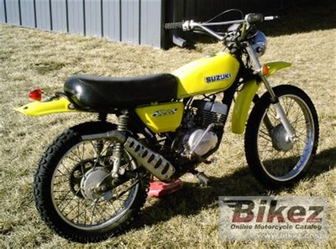 1974 Suzuki TS 125 specifications and pictures