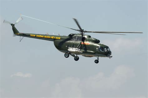 Vietnam army helicopter crashes killing four crew members