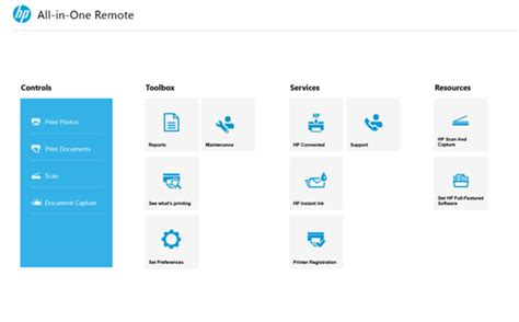 HP All-in-One Printer Remote Updated In Windows Store With