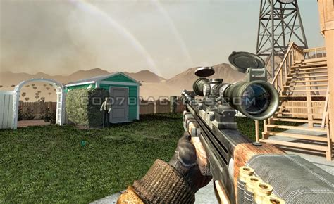 Call of Duty: Black Ops - Weapons List - WA2000
