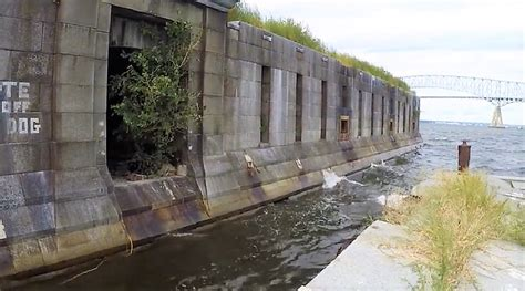 A Look Inside The Walls Of Fort Carroll In Maryland Is