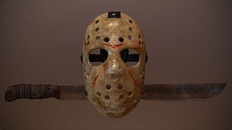 Friday the 13th - Hockey Mask and Machete at Fallout 4