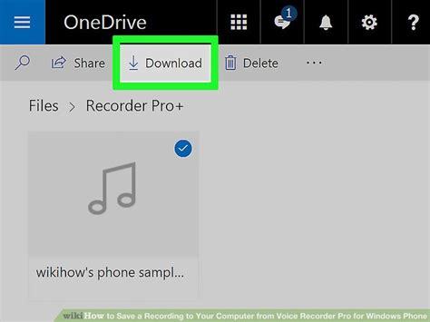 How to Save a Recording to Your Computer from Voice