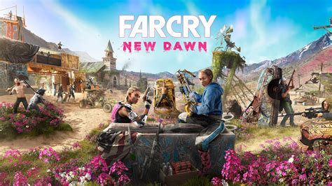 Far Cry New Dawn Cover art 2019 Game 4K Wallpapers   HD