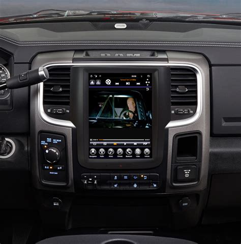 """GEN II """"T"""" Style Radio for 2013-18 RAM – ADC Mobile"""