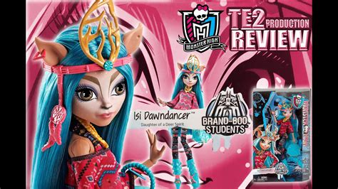 Review Monster High Brand-Boo Students Isi Dawndancer