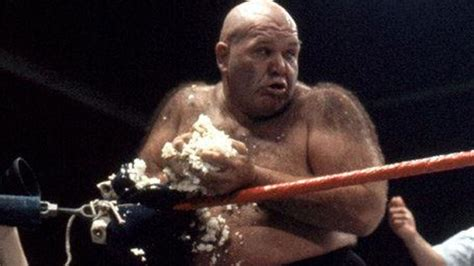 George 'The Animal' Steele, a WWE legend and Hall of Famer