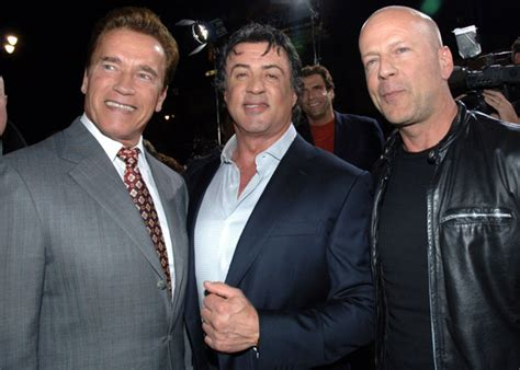 Arnold Schwarzenegger and Bruce Willis Confirmed For 'The