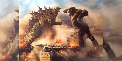 Godzilla vs Kong High-Quality Image Teases Battle For The Ages