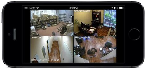 Remote Access to View Security Cameras from iPhone App Not